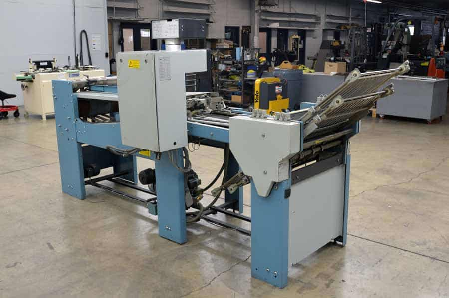 MBO T49 Continuous Feed 4/4/4 Paper Folder