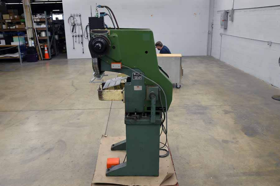 milford rivet machine