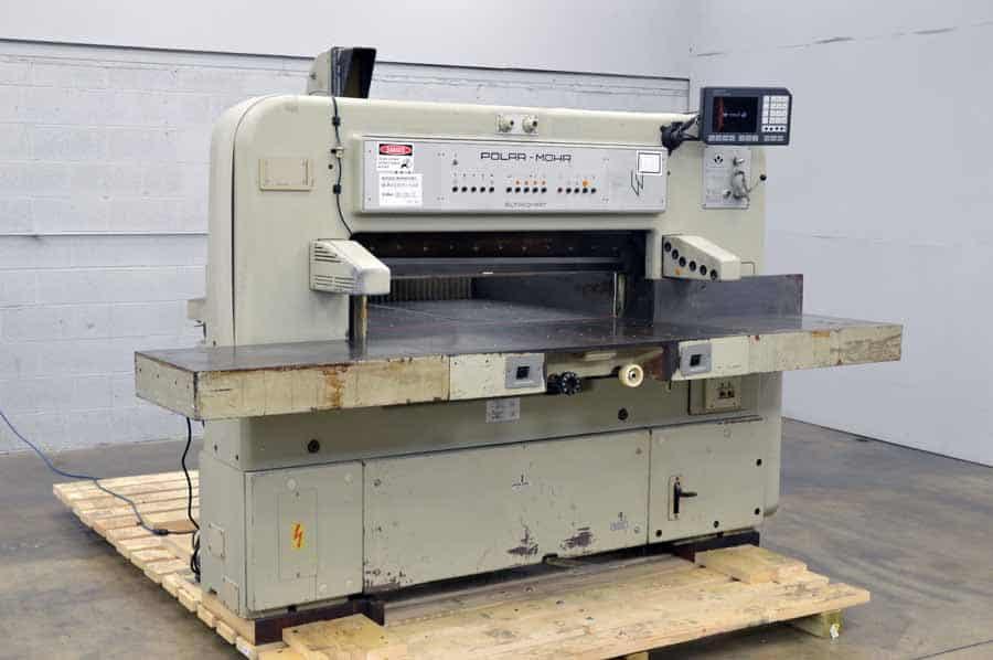 polar mohr 115 ce paper cutter with microcut plus boggs equipment Polar Mohr Parts Polar 115 Cutter Manual