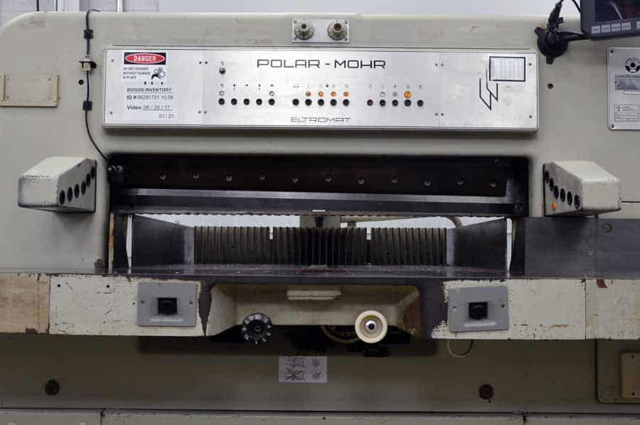 polar mohr 115 ce paper cutter with microcut plus boggs equipment Polar Cutter Manual Polar Cutter Parts
