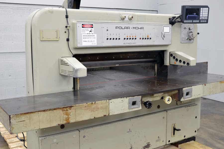 polar mohr 115 ce paper cutter with microcut plus boggs equipment Polar RS300X Polar Cutter