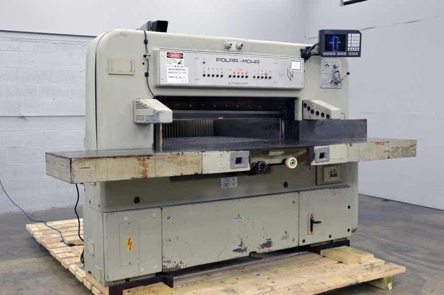polar mohr 115 ce paper cutter with microcut plus boggs equipment Polar Cutter Parts Polar RS300X