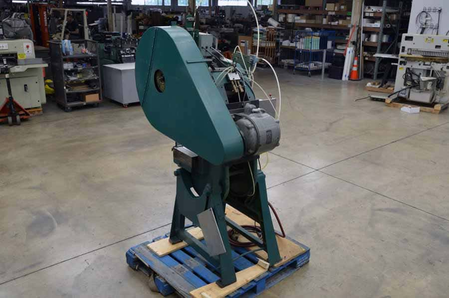 Press Rite No. 2 Power Press High Die with Pneumatic Roll Feed Counter