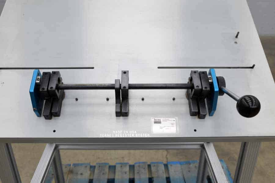 Register System Ternes Plate Punch