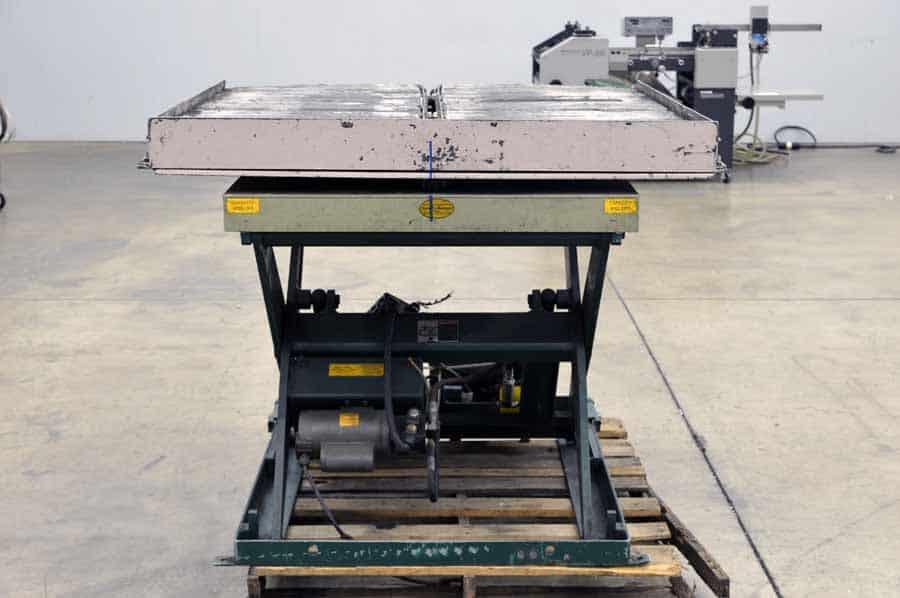 Southworth Ls4‑36w Ls Series Backsaver Lift Table Boggs