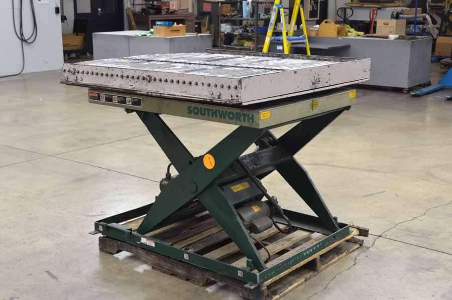 Southworth LS4‑36W LS Series Backsaver Lift Table
