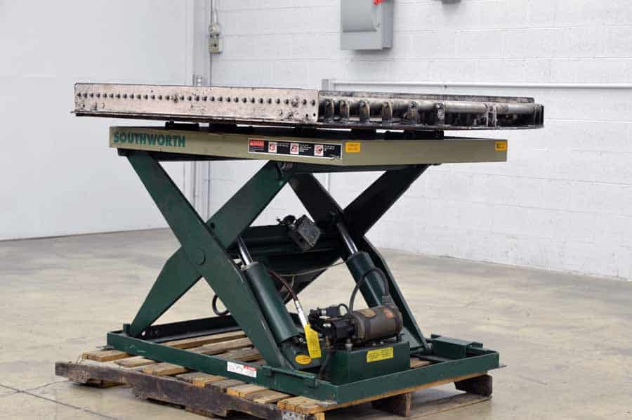 Southworth Ls4‑36w Ls Series Backsaver Lift Table Boggs