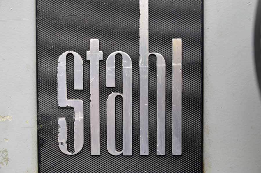 Stahl TF 66 Paper Folder with SAK 66 Roll Away Delivery