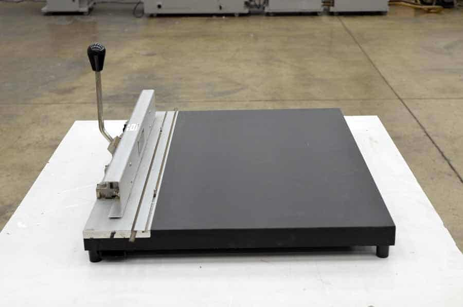 Stoesser Register Systems Plate Punch Boggs Equipment