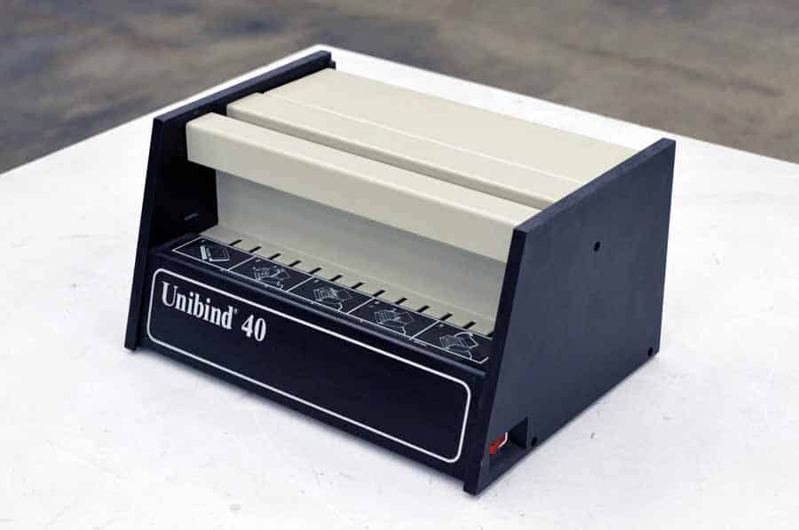 Unibind 40 Thermal Book Binding Machine