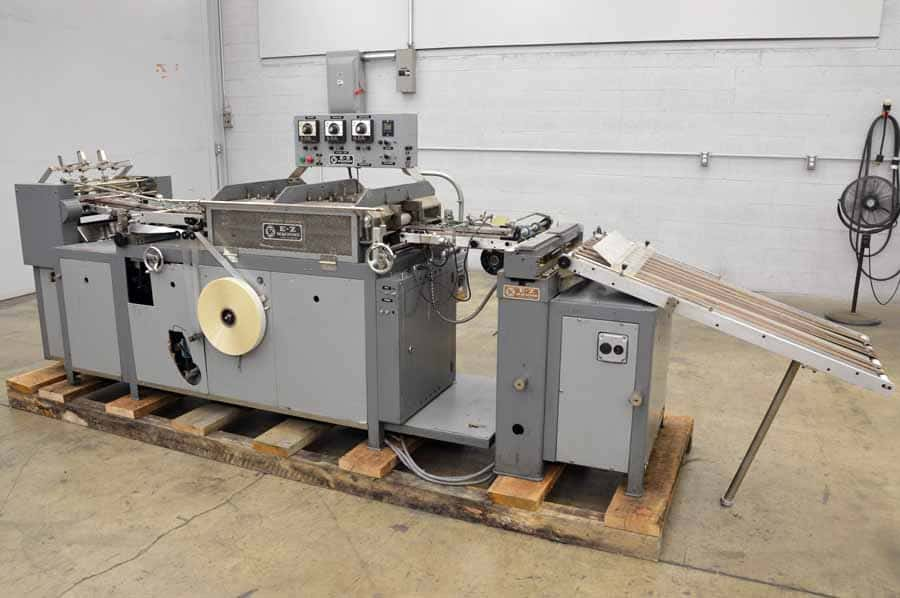 1986 EZ RC85 Mylar Tabbing Machine