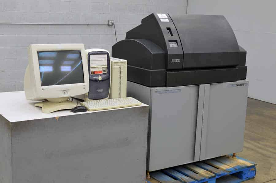 ABDick Digital Platemaster 2340 Computer to Plate System