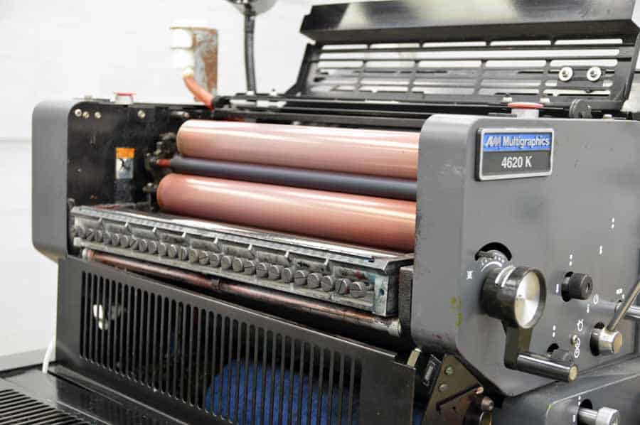 AM Multigraphics 4620K Offset Printing Press