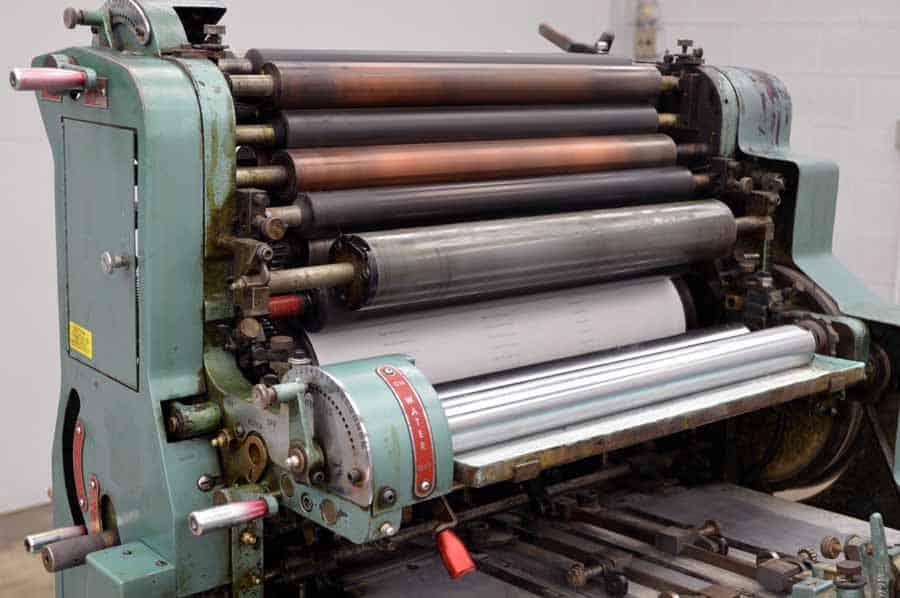 ATF Chief 20A Single Color Offset Printing Press