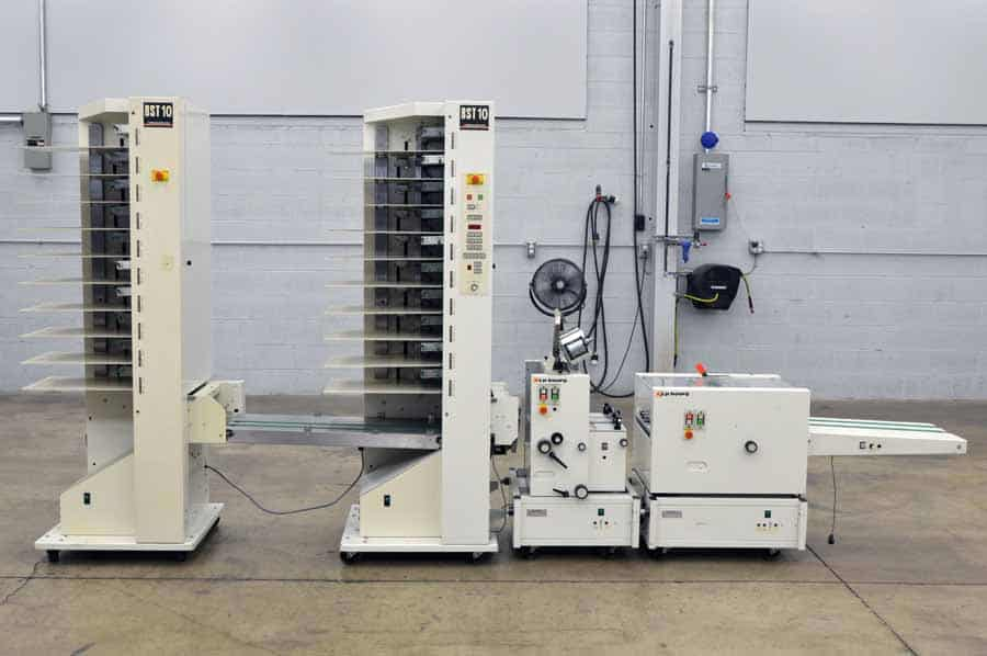 Bourg BST 10 Two Tower Collator with Booklet Maker