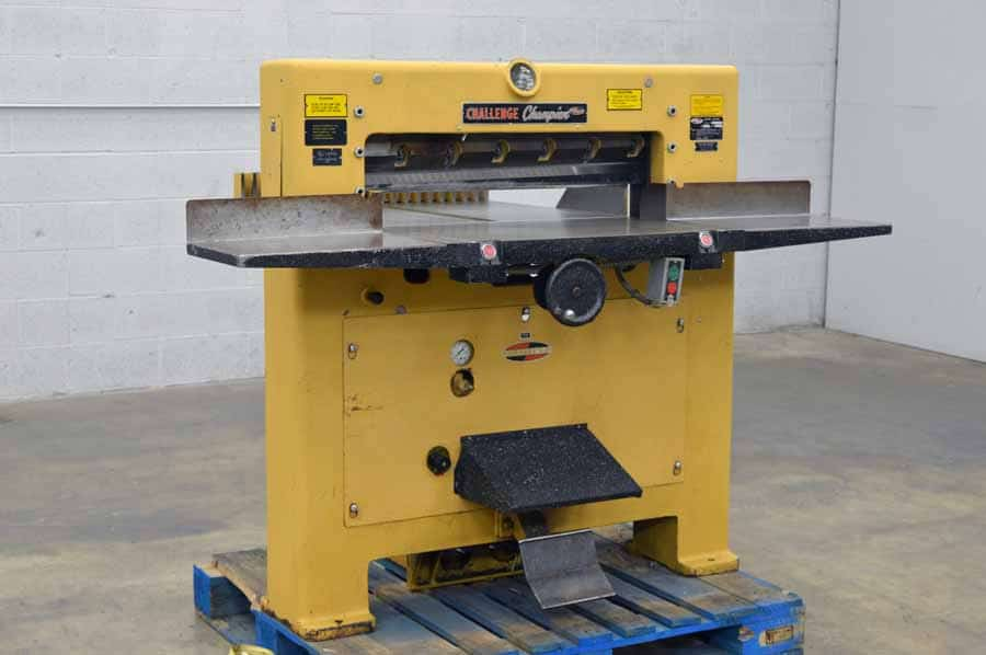 """Challenge 305 MC 30.5"""" Paper Cutter with Digital Readout"""
