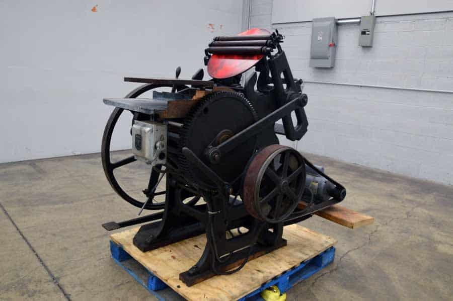Chandler & Price Platen Press