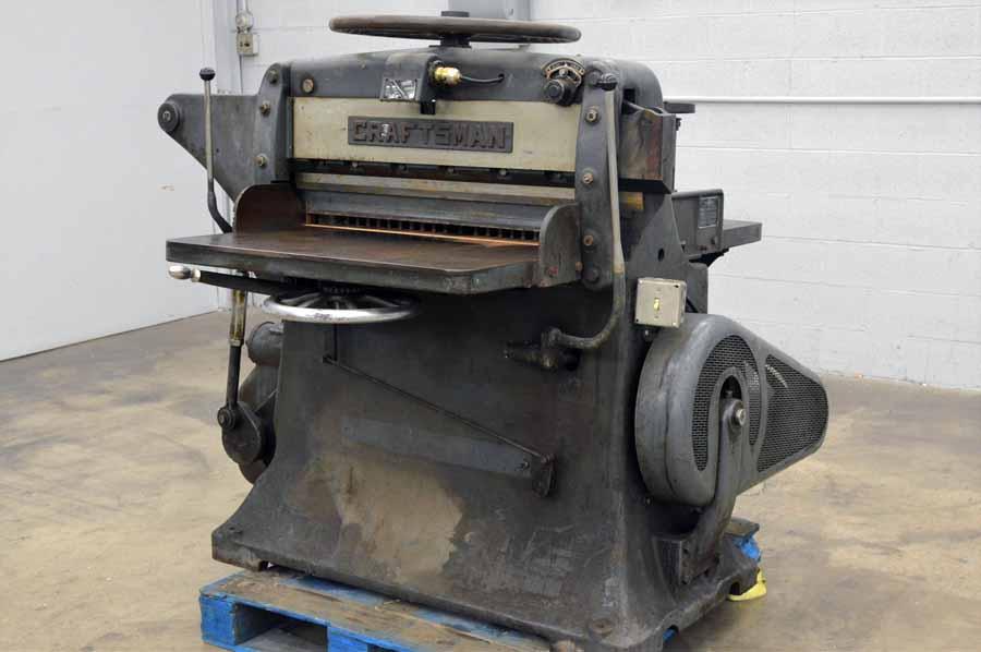 Craftsman Chandler & Price Antique Paper Cutter