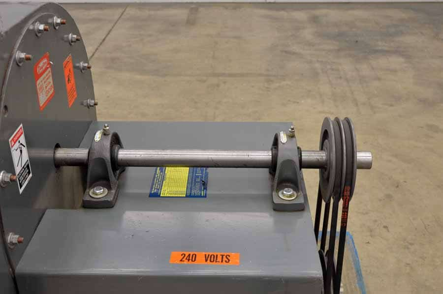 Dayton Industrial Fans And Blowers : Dayton quot diameter wheel industrial blower boggs