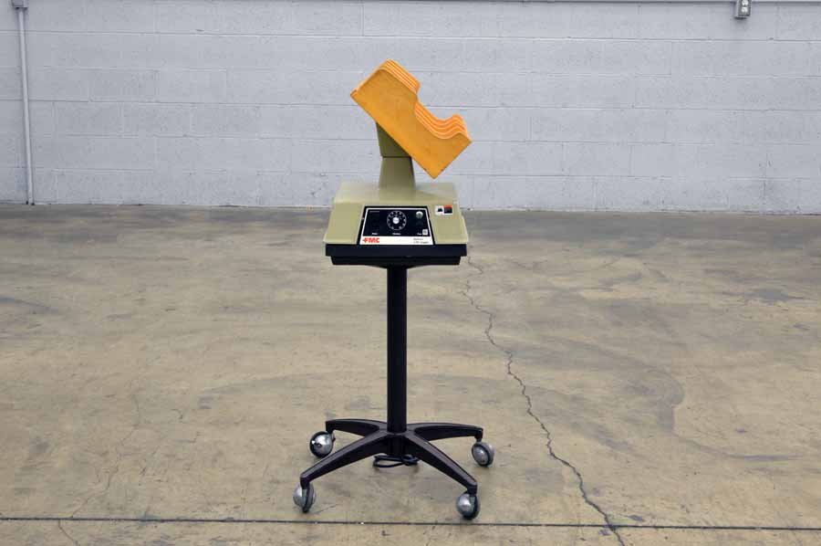 FMC J-50-B Four Pocket Tilt Rack Paper Jogger with Mobile Stand