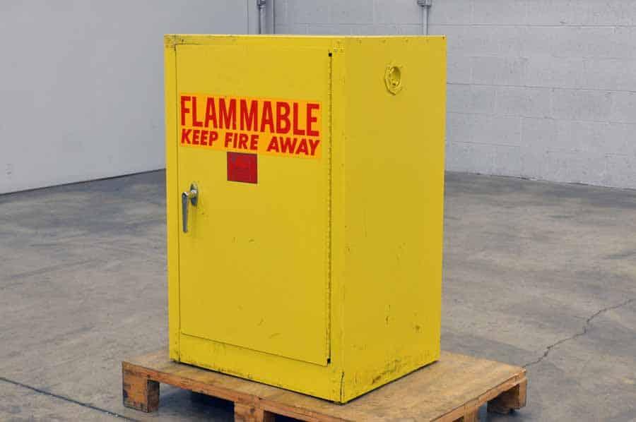 Follansbee 12 Gallon Capacity Storage Cabinet Boggs