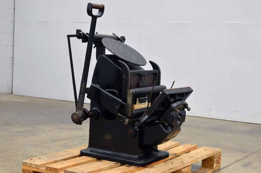 G.H. Lorenz 23 x 32.5 Pilot Press