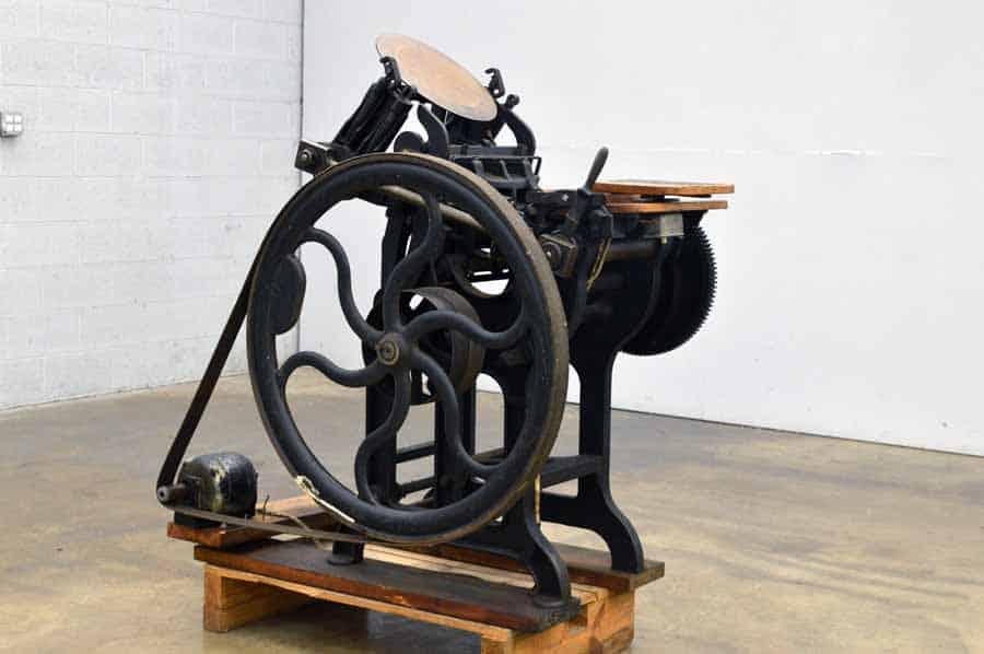 G.P. Gordon New York Platen Press