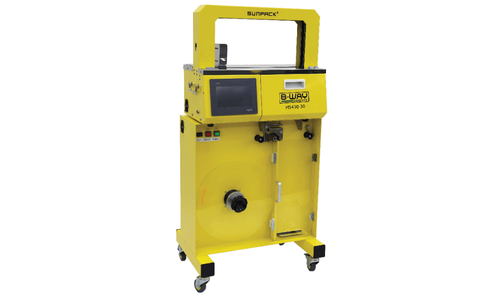 HS 430-B High Speed Banding Machine with High Capacity Feeder