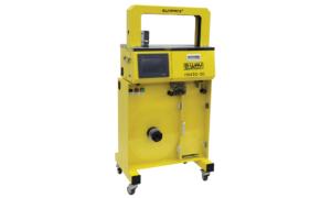 HS 430-B High Speed Banding Machine with High Capacity Feeder Base