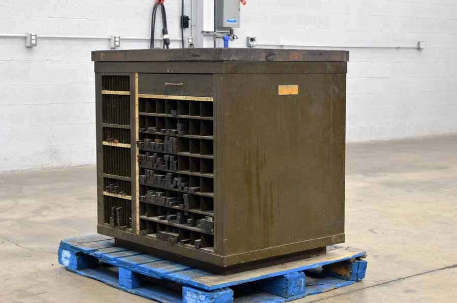 Hamilton Iron Top Galley Cabinet with Assorted Wooden Furniture