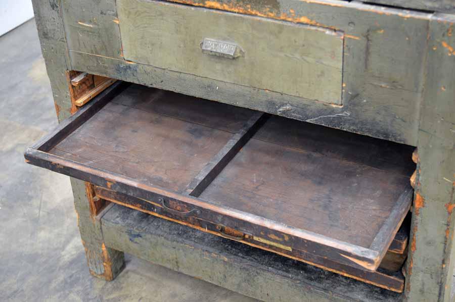 Hamilton Letterpress Cabinet