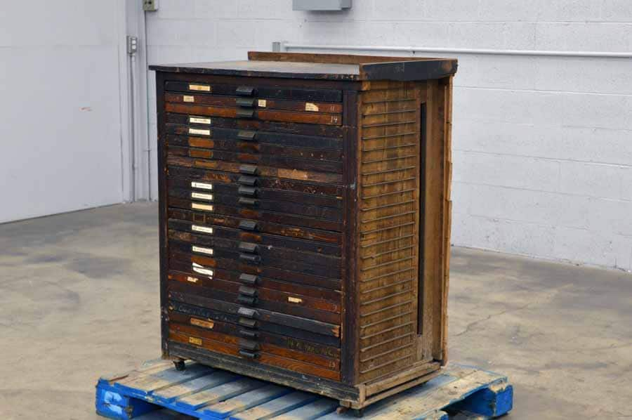 Hamilton Type Cabinet with Some California Case