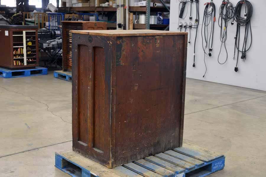 Hamilton Type Cabinet with California Cases