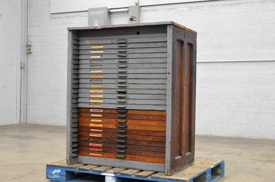 Hamilton Type Cabinet with California Cases