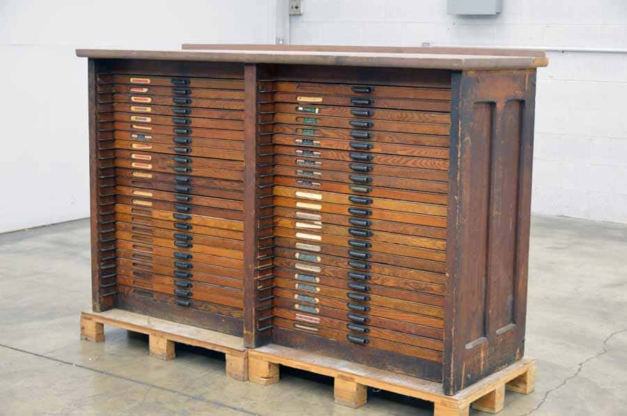 Hamilton Type Cabinet with Some California Cases