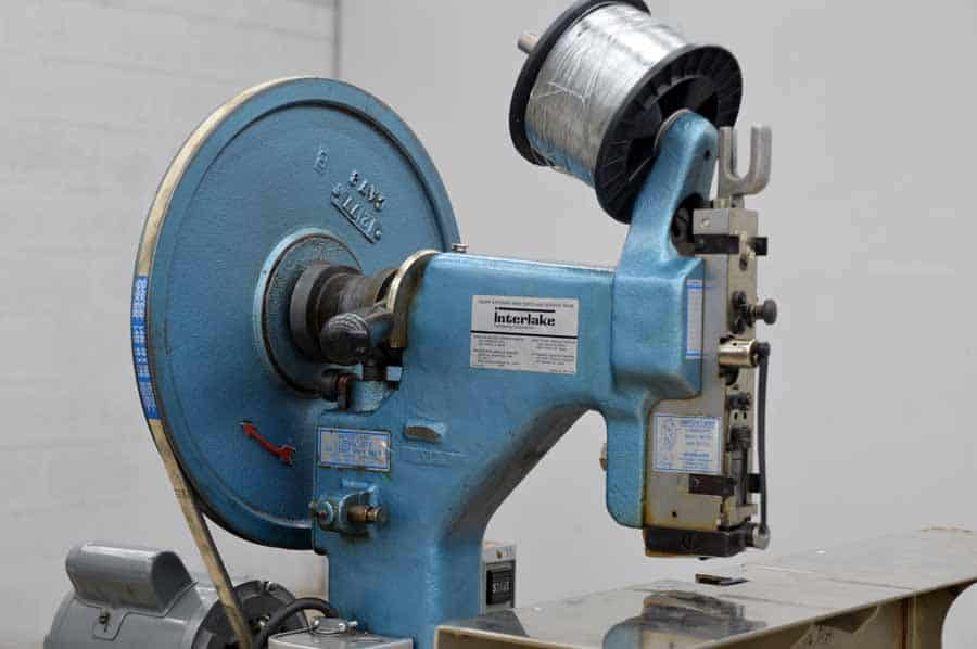 Interlake Model A Saddle Stitcher