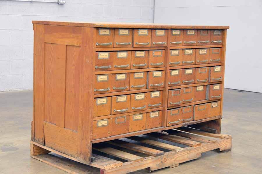 Letterpress Cabinet