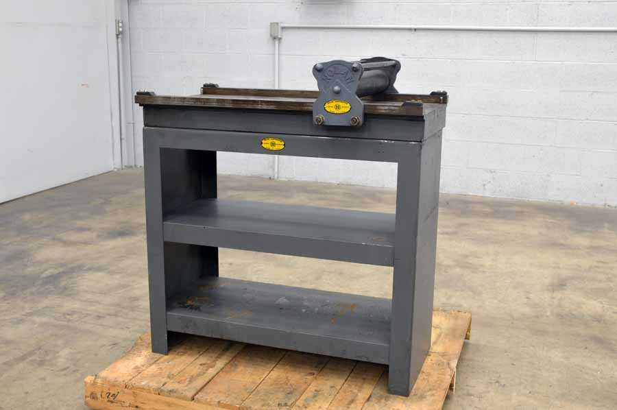 Nolan Model No. 2 Proof Press with Steel Cabinets