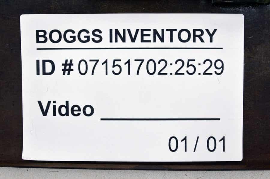 used numbering machine