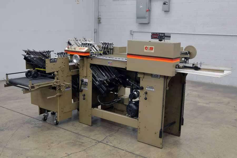 O&M F14 Futura Paper Folder