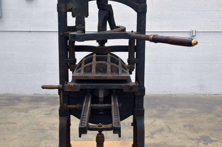 "Ostrander Seymour Extra Heavy ""Washington"" Style Letterpress"