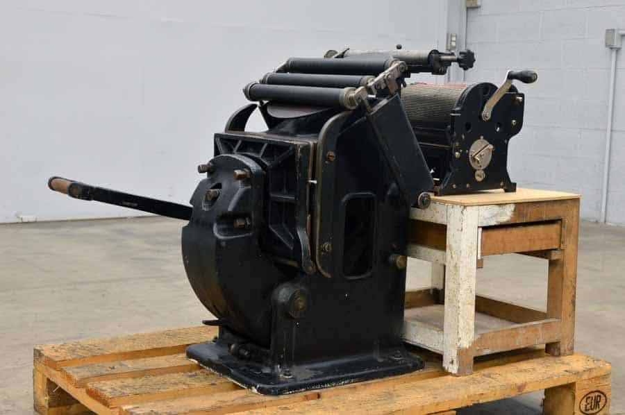 13 x 32.5 Pilot Press with No. 60 Multigraph