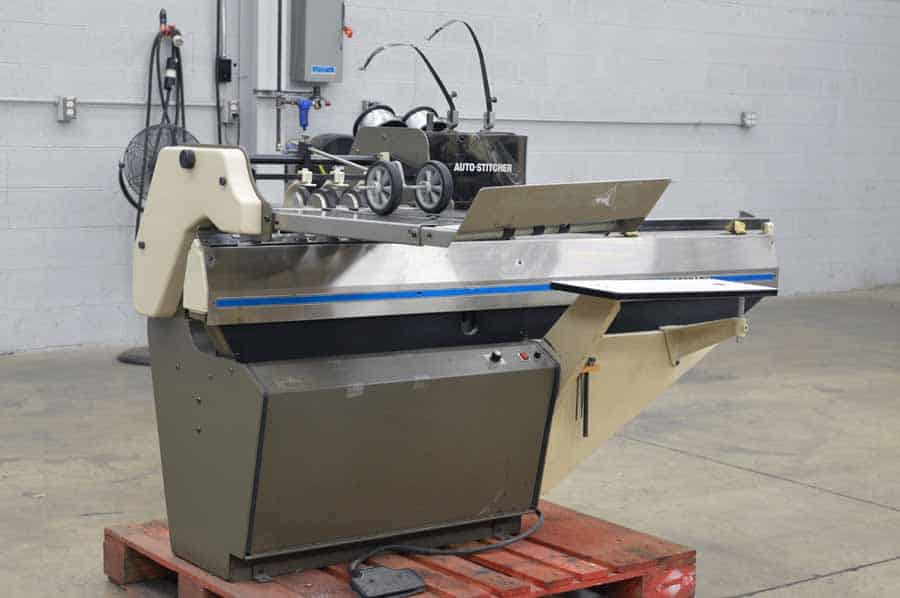 Rosback 201A Book Binding Saddle Stitcher