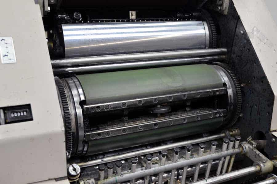 Ryobi 3200CD Offset Press with Crestline Dampening System