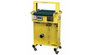 S 470-AB Automatic Conveyor Banding Machine with High Capacity Feeder Base