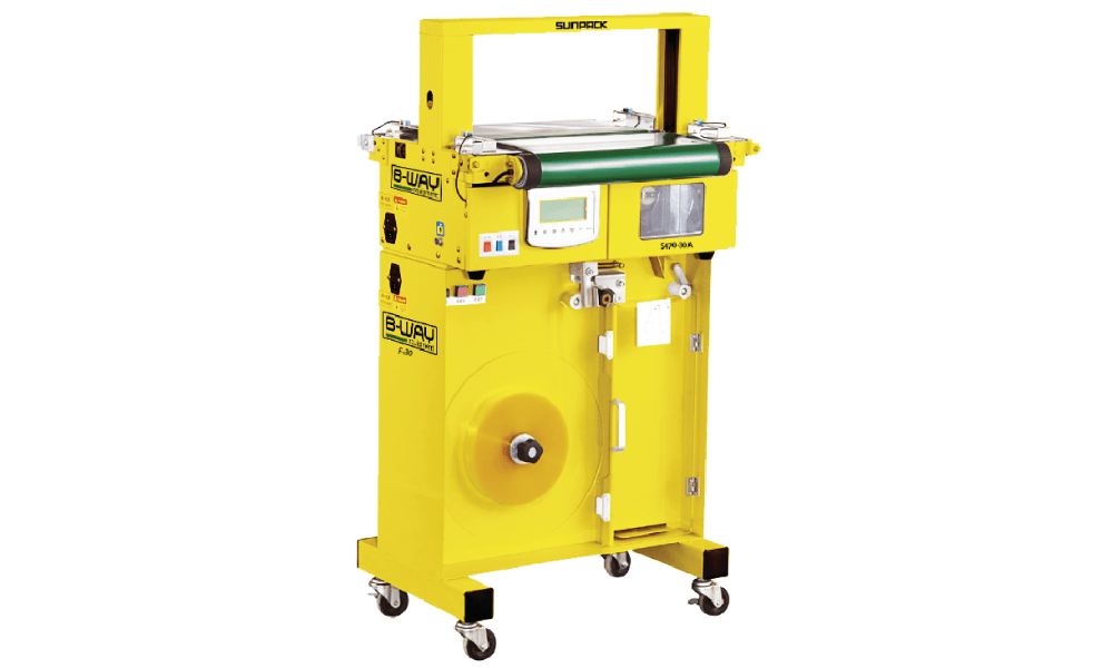 S 470-AB Automatic Conveyor Banding Machine with High Capacity Feeder