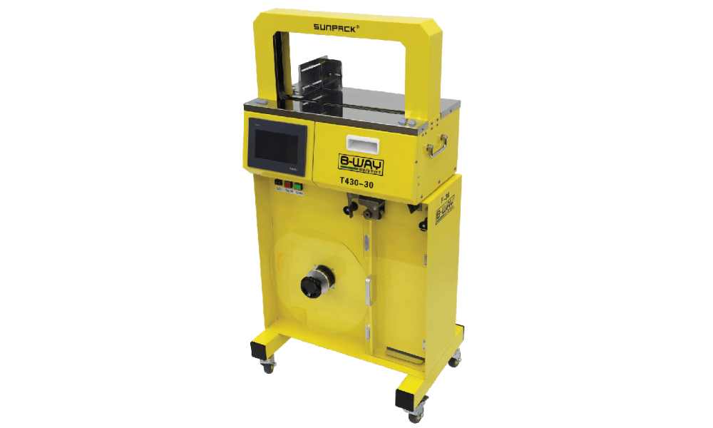 T 430-B Banding Machine with High Capacity Feeder