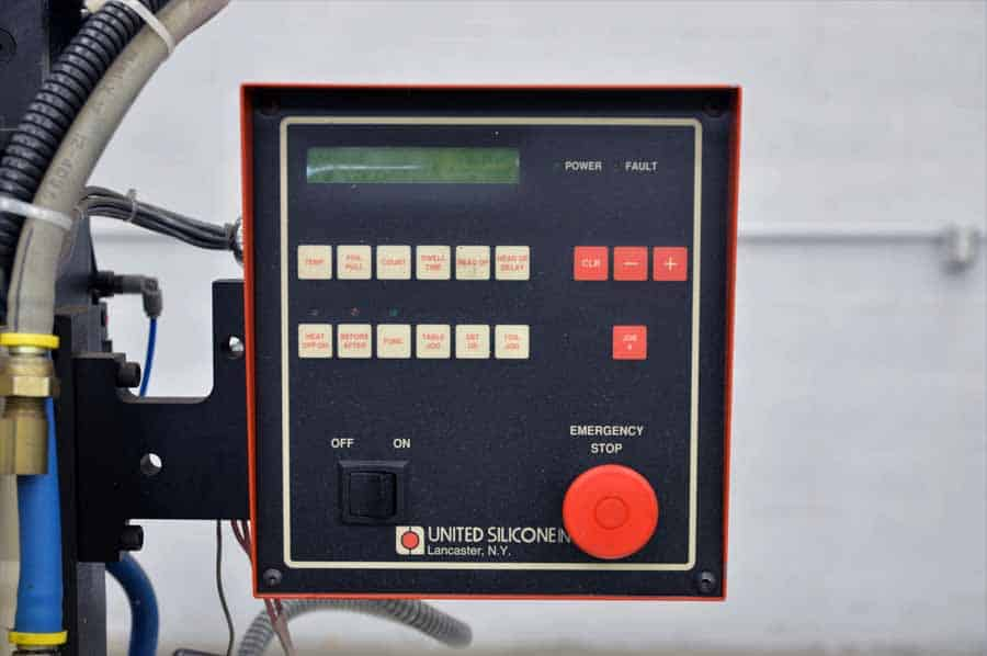 United Silicone Model Us 5 Hot Stamping Machine Boggs