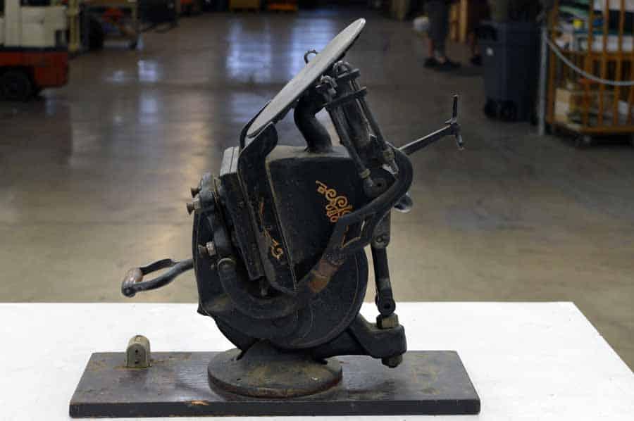 Antique Table Top Platen Press