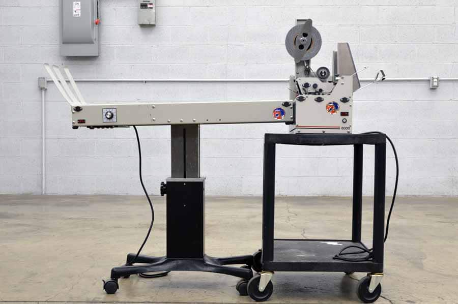 Astro ATS-8000 Tabber with Conveyor